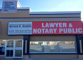 Exterior of Nathan R Bauder Law Office
